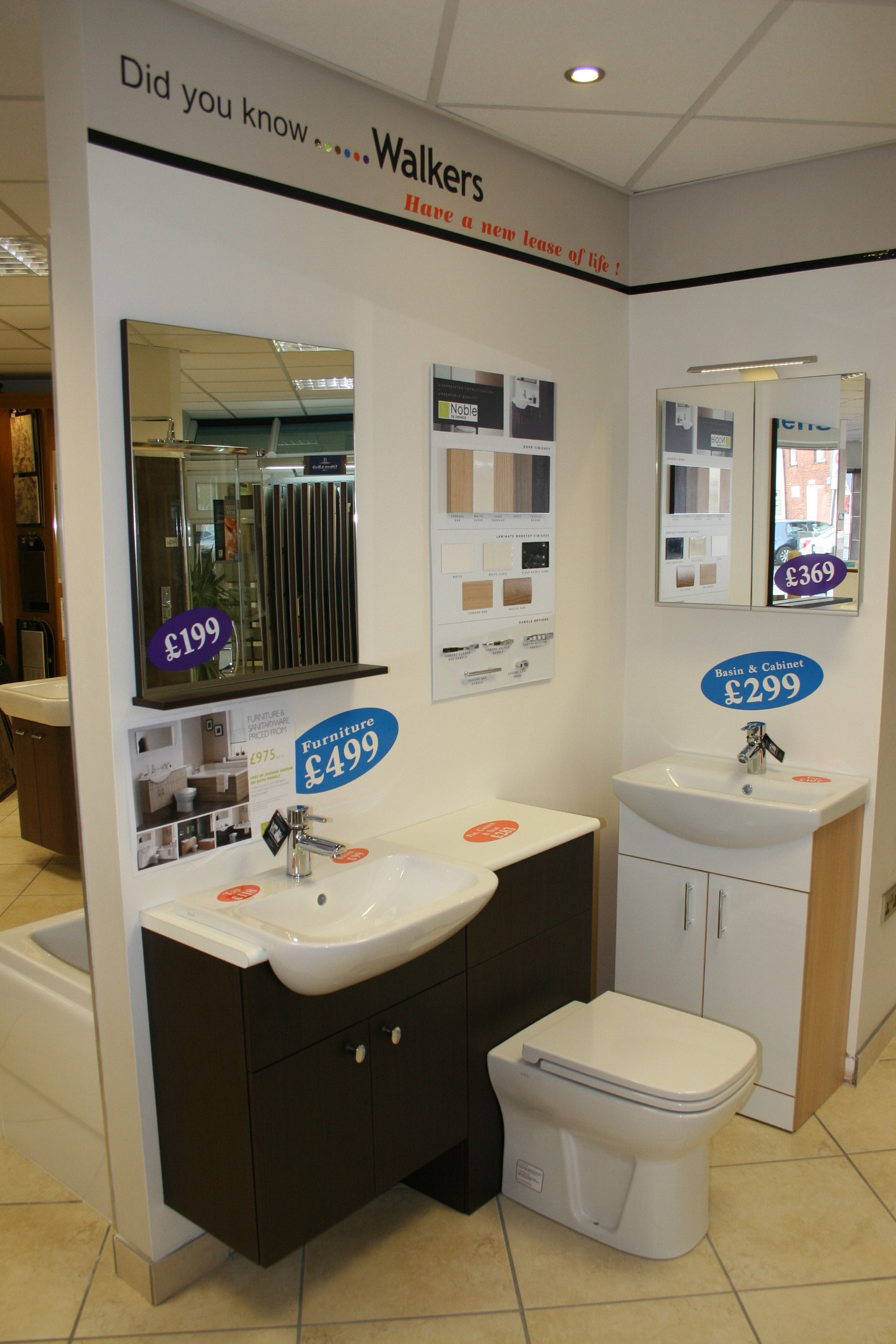 Visit our showroom in Scunthorpe, Lincolnshire - Walkers at Home